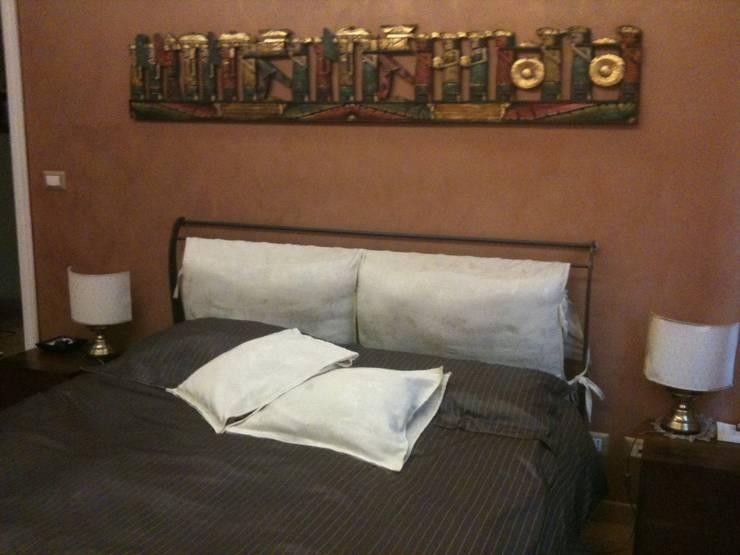 interior relooking zona notte:  in stile  di piano a, Eclettico