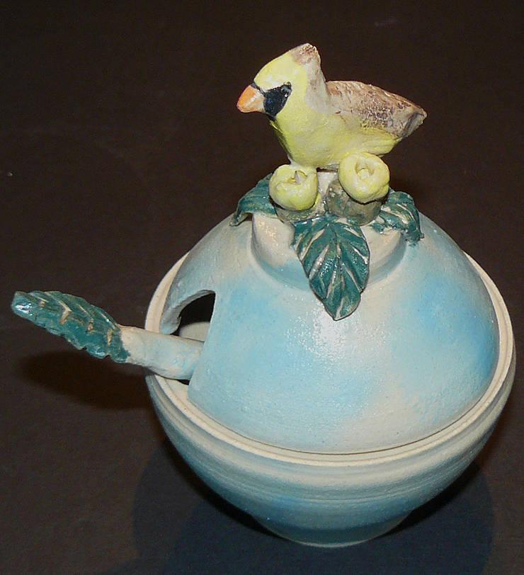 Ceramic Condiment Set:  Artwork by Boyne-Whitelegg Pottery