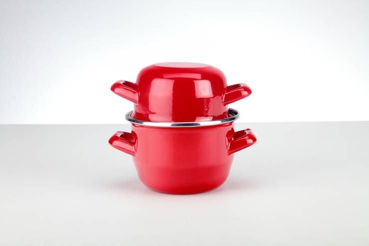 Muscheltopf - Musselpot:  Küche von Bemus Stahlwaren