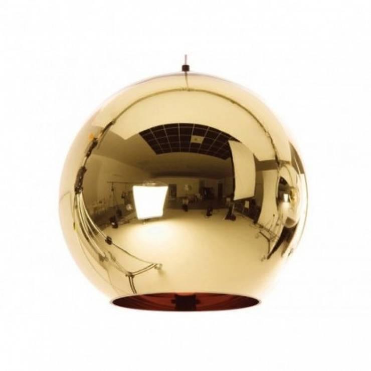 Suspension Copper - Tom Dixon: Maison de style  par Astéri