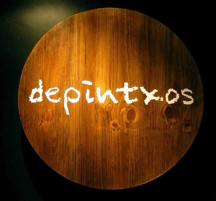diseño y reforma de local comercial . Bar Depintxos. Burgos: Espacios comerciales de estilo  de Cimbra47