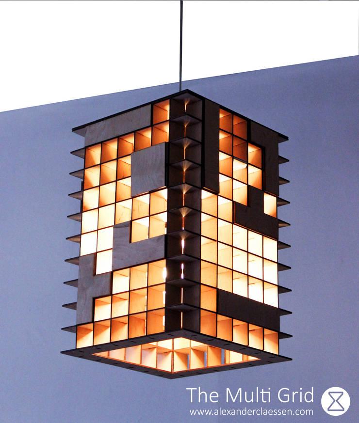 Tetris Lamp:   door Alexander Claessen, Industrieel