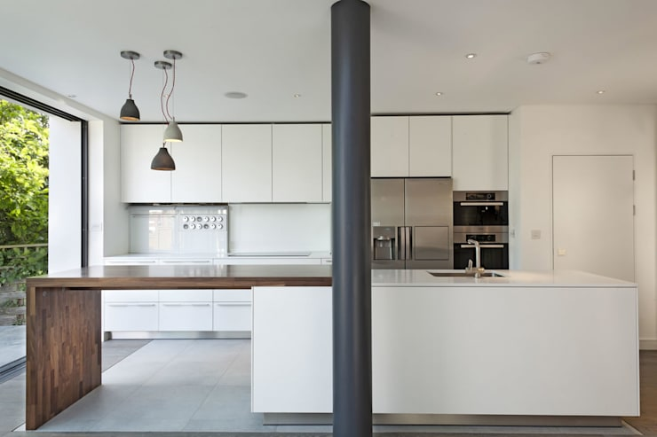 Redston Road, N8: modern Kitchen by XUL Architecture