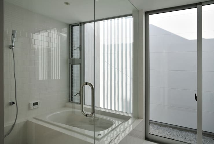 Ванные комнаты в . Автор – 島田博一建築設計室