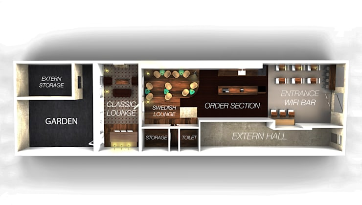 Coffeehouse Plan:  Bars & clubs door Alexander Claessen