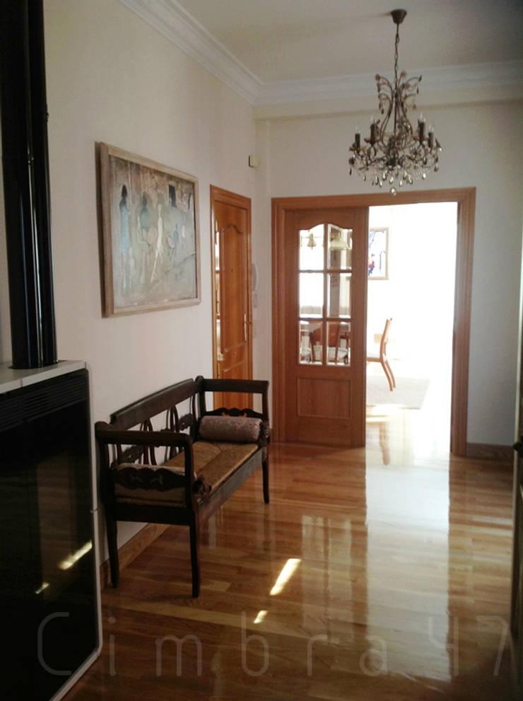 Reforma completa de vivienda. Burgos: Casas de estilo  de Cimbra47