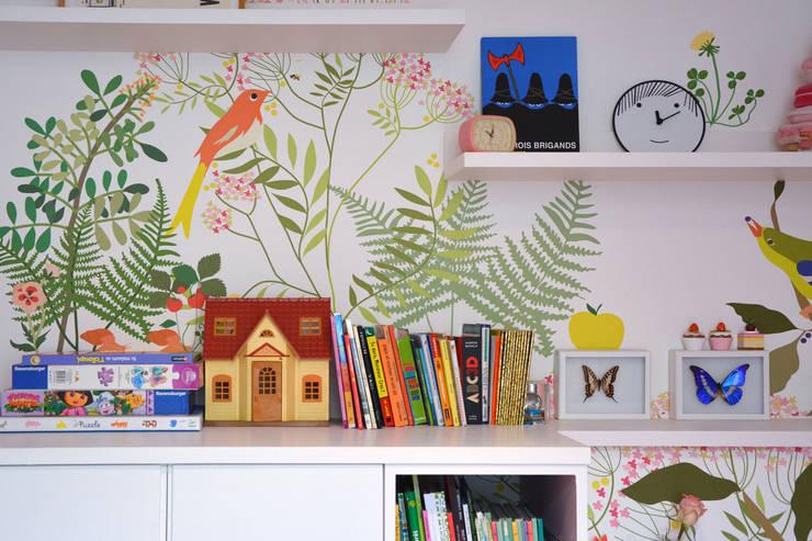 Détails décor Botanique: Murs & Sols de style  par Little Cabari