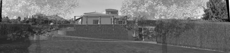 Vivienda Unifamiliar Jose Manuel: Paisajismo de interiores de estilo  de samb.arq