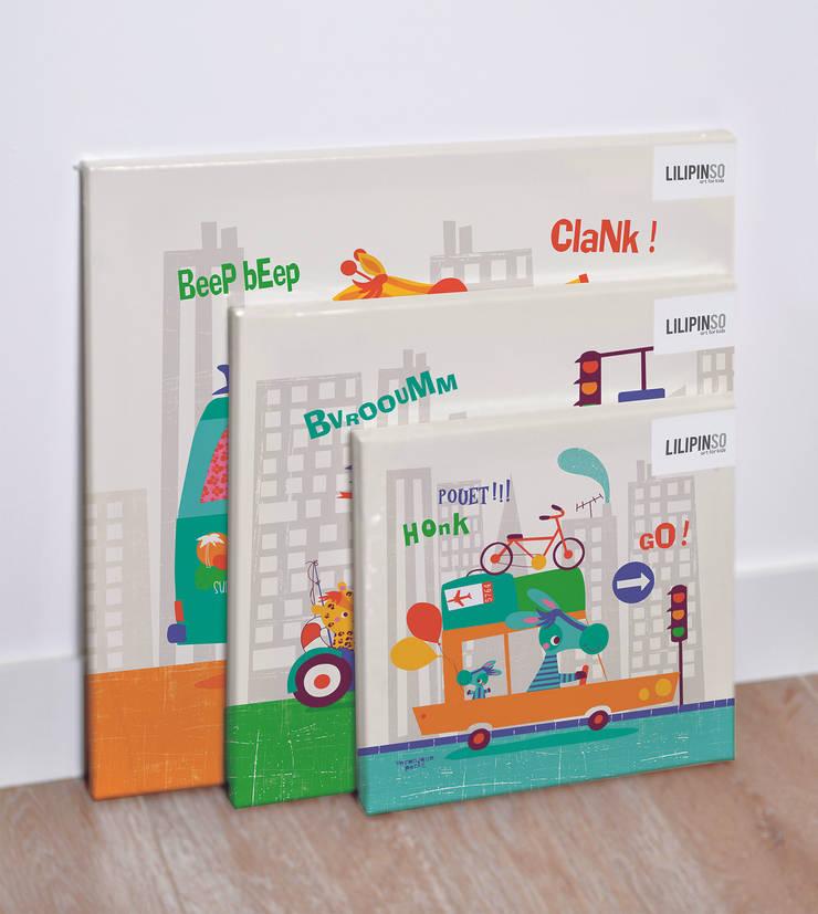 Décoration chambre : Chambre d'enfants de style  par Véronique Petit Designer Textile
