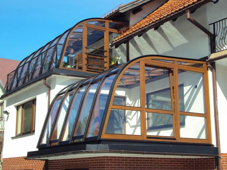 Balkon Aus Glas