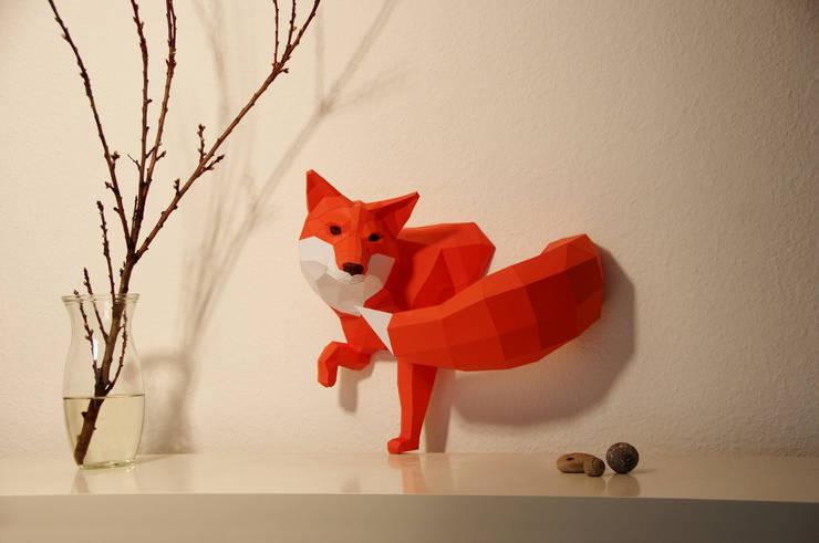 Parede e pavimento  por Paperwolf