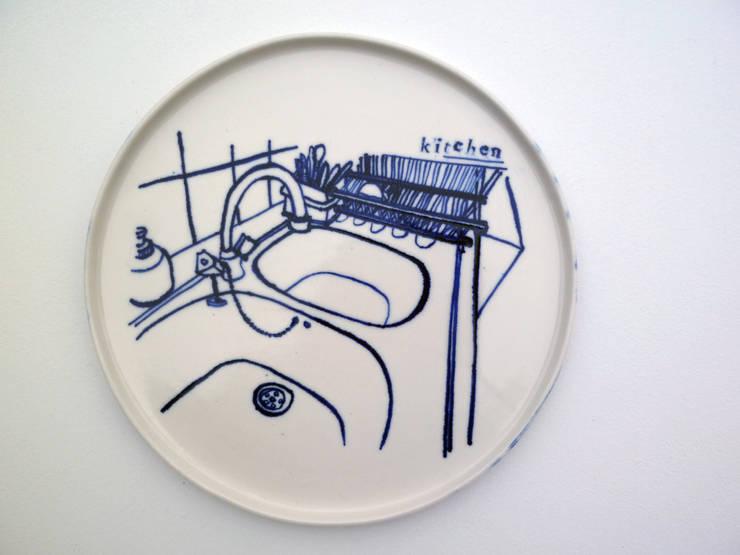 assiette Kitchen:  de style  par Marlène Requier