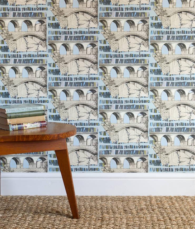 Viaduct:  Walls & flooring by Rachel Reynolds