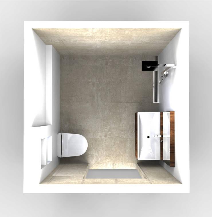 Bathroom:  Badkamer door Alexander Claessen, Minimalistisch