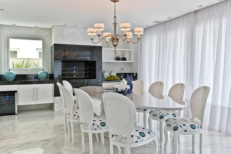 Столовые комнаты в . Автор – Samara Barbosa Arquitetura