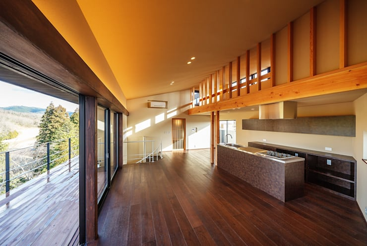 傳寶慶子建築研究所의  거실