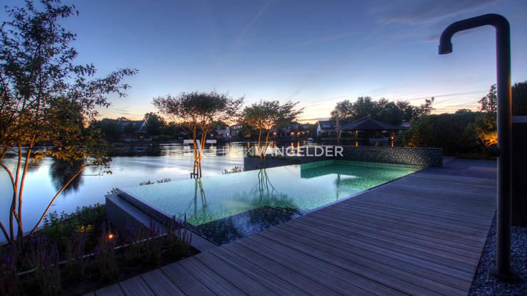 Tijdloze wellnesstuin Alblasserdam:  Tuin door ERIK VAN GELDER | Devoted to Garden Design