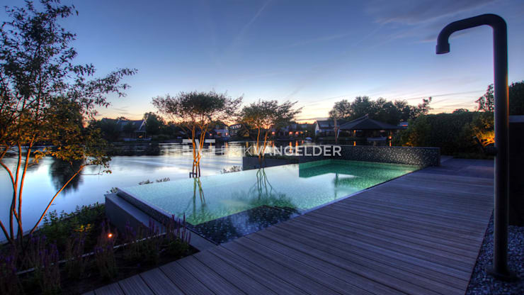 庭院 by ERIK VAN GELDER | Devoted to Garden Design, 現代風