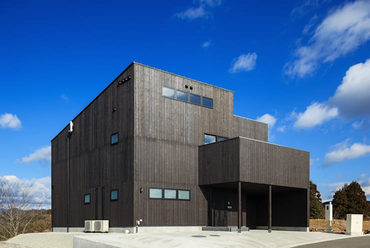 玄燈舎: 傳寶慶子建築研究所が手掛けた家です。,