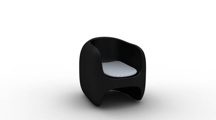 Poltroncina APPLE: Soggiorno in stile in stile Moderno di Studio Ferrante Design