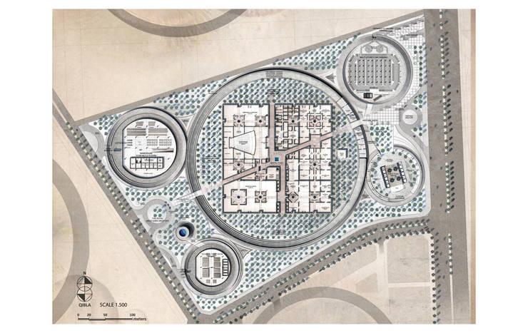 The Noble Qur'an Oasis Competition:  de estilo  de Ricardo Bofill Taller de Arquitectura