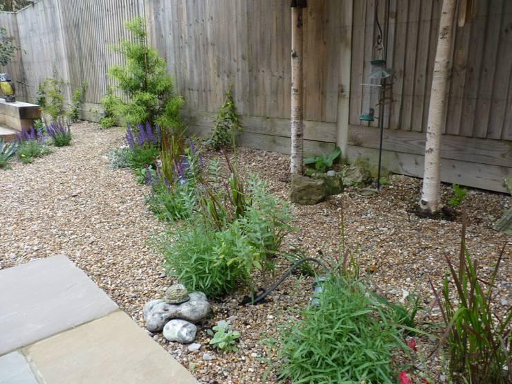 Serene Gravel Garden:  Garden by Cornus Garden Design