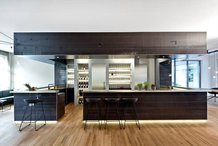 eclectische Keuken door DITTEL ARCHITEKTEN GMBH