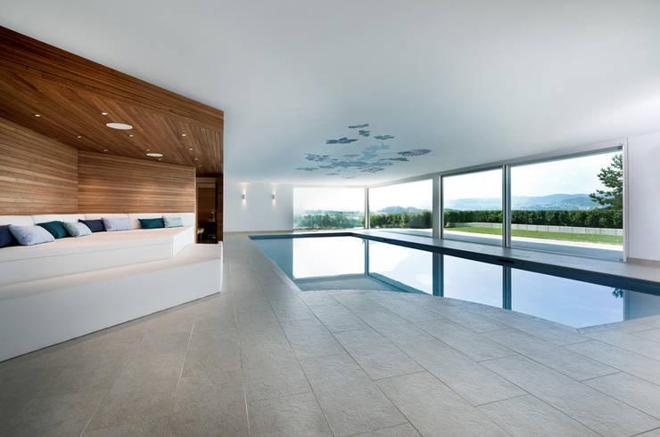 modern Pool by DITTEL ARCHITEKTEN GMBH