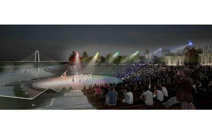 Dallas: The Connected City Design Challenge:  de estilo  de Ricardo Bofill Taller de Arquitectura