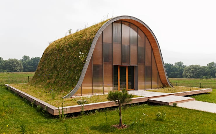 Casas modernas por Patrick Nadeau