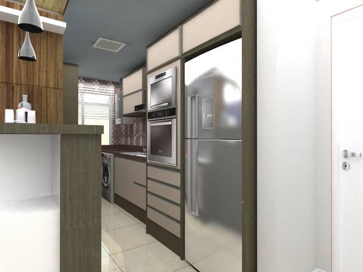 Cozinha:   por Cristiano Carvalho Arquitetura e Design