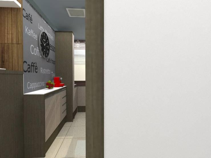 Cozinha:   por Interior Design Christiano Carvalho