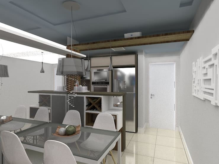 Jantar:   por Cristiano Carvalho Arquitetura e Design