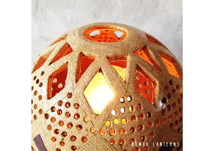 lampion Zapach Maroka: styl , w kategorii Balkon, weranda i taras zaprojektowany przez Aleksandra Mysiorska