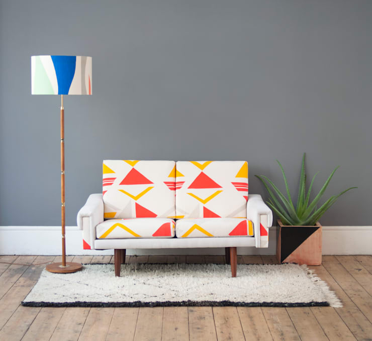 Tamasyn Gambell X Forest London Collaboration: modern Living room by Tamasyn Gambell