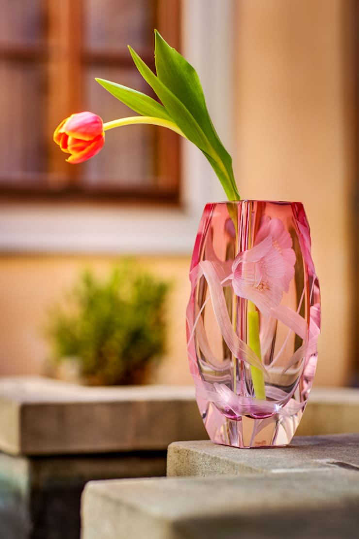 Sofistike – MOSER / Blossom vazo:  tarz Ev İçi