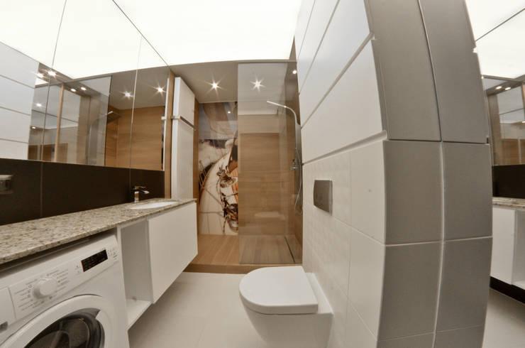 Mieszkanie Gdańsk - 38m2 - 2015: styl , w kategorii Łazienka zaprojektowany przez Pracownia Projektowa Studio86