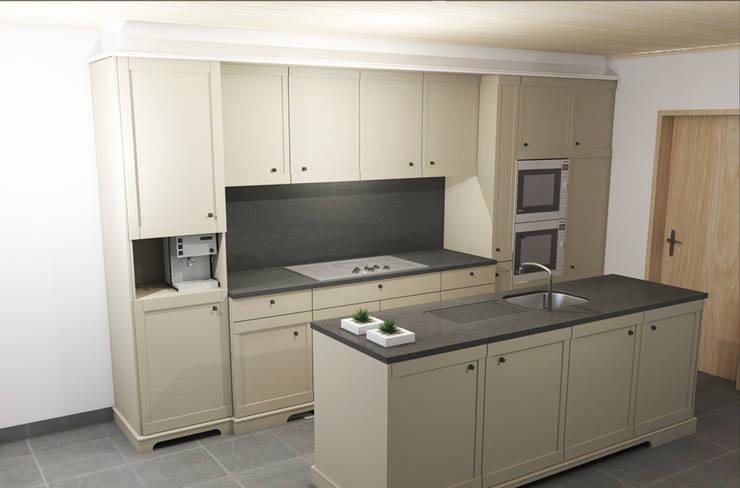 Keuken:   door AD MORE design, Landelijk