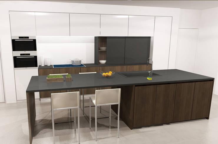 Keuken:   door AD MORE design, Minimalistisch