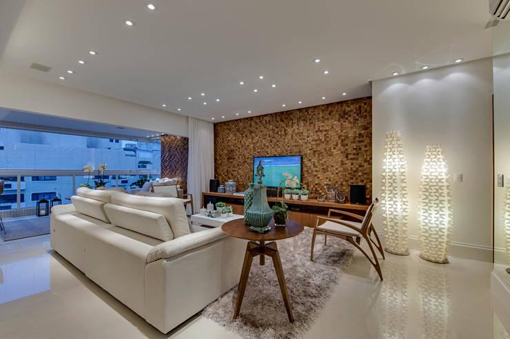 Projeto: Salas de estar  por carla felippi arquiteta