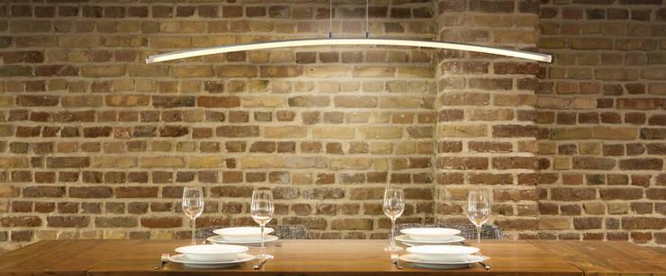 Lámpara LED Lineal 28w: Comedor de estilo  de Bazar Isa