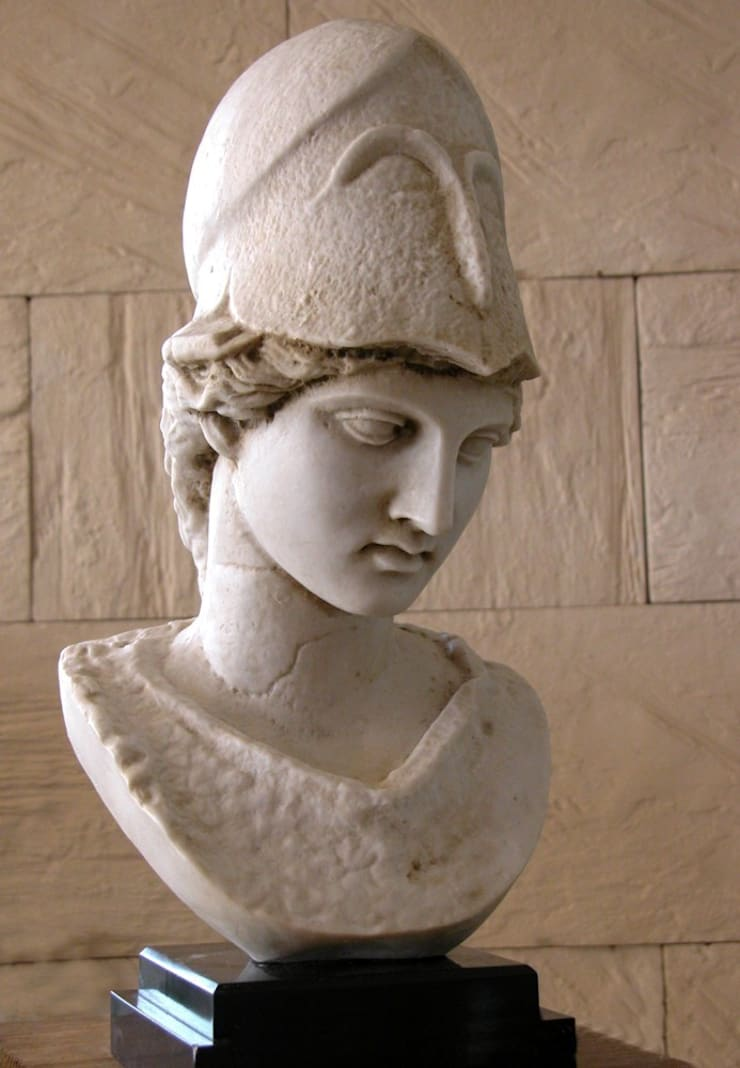 Busto de Atenea: Salones de estilo  de Paco Escrivá Muebles