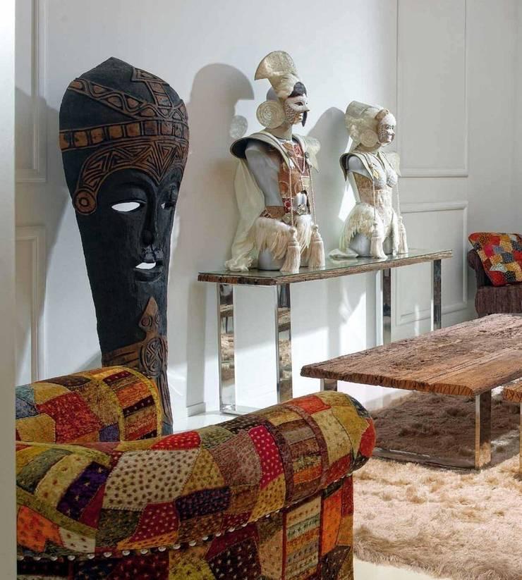 Escultura Rey y Reina Rah: Salones de estilo  de Paco Escrivá Muebles