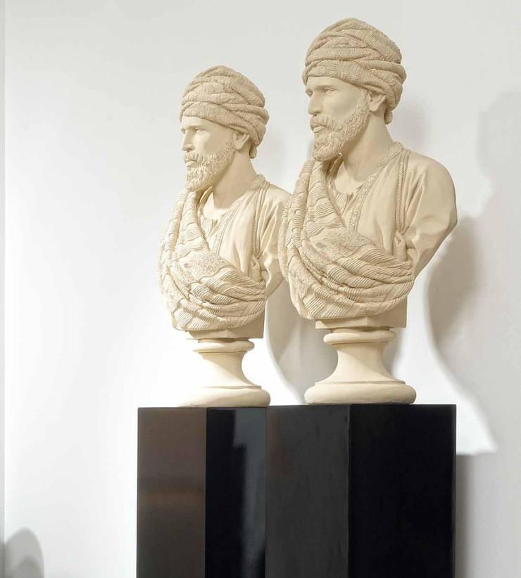 Figura Busto Clásica Sheik: Salones de estilo  de Paco Escrivá Muebles