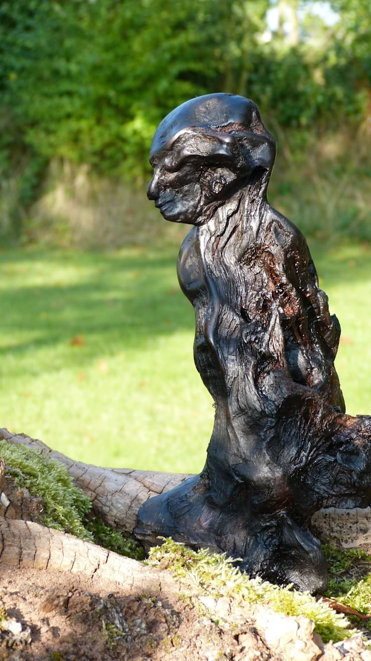 Bog Wood Sculpture:  Artwork by Irish Bog Wood Sculpture