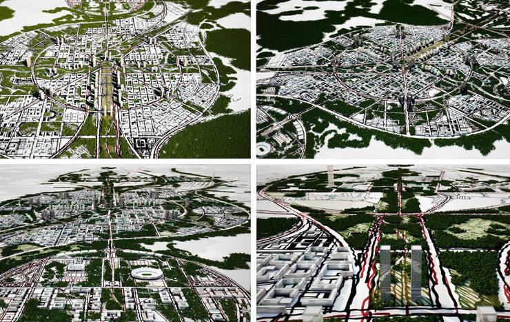 Moscow Agglomeration:  de estilo  de Ricardo Bofill Taller de Arquitectura