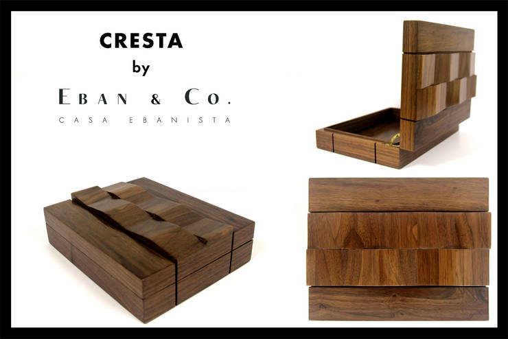CRESTA: Hogar de estilo  por Eban & Co.