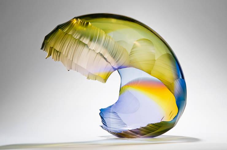 Aurora Wave Breaking:   by Vessel Gallery