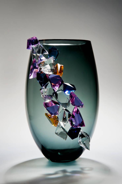 Cristalline in grey:   by Vessel Gallery