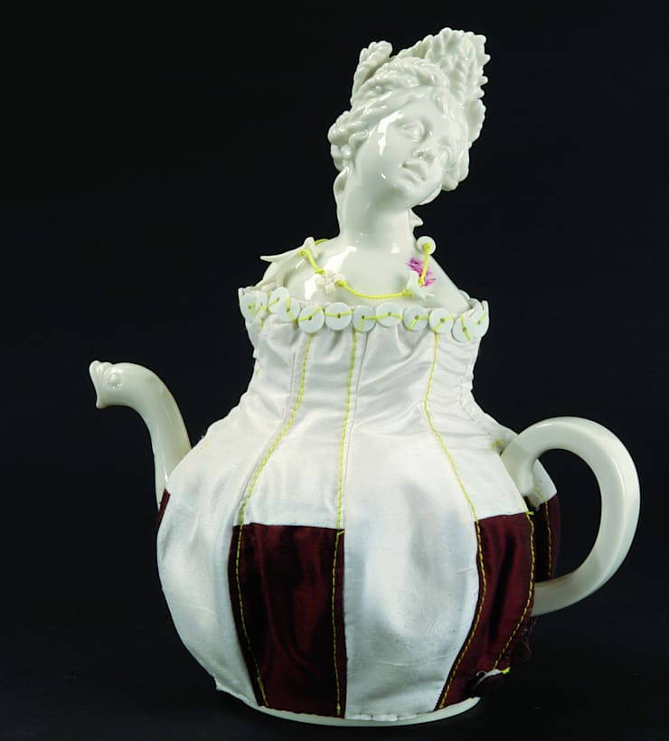 Four Seasons Teapot:   by Vessel Gallery